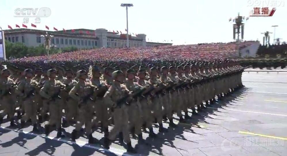 纪念抗战胜利70周年阅兵式直播